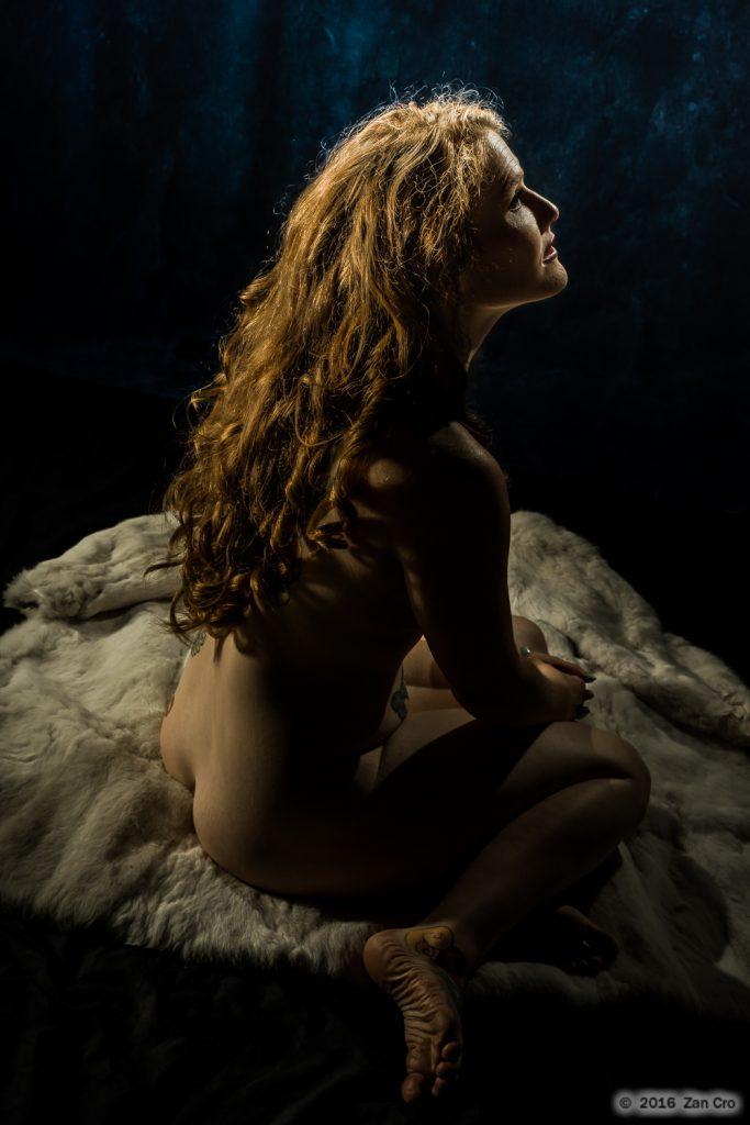 Classic Redhead Nude.